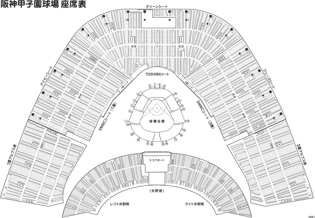 甲子園マップ